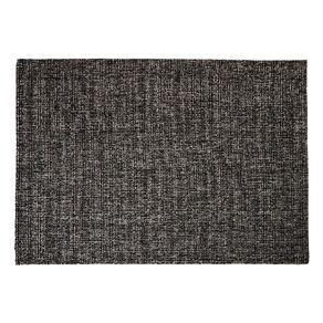 Living & Co Grey Slub Area Rug Charcoal 160cm x 230cm