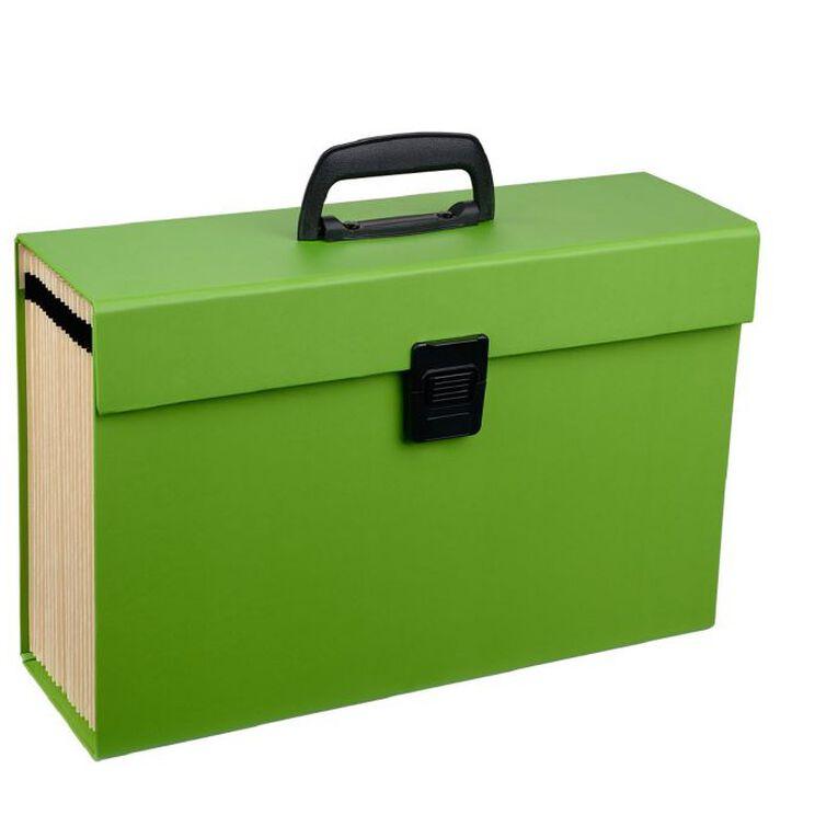 WS Concertina File 19 Pocket Green, , hi-res