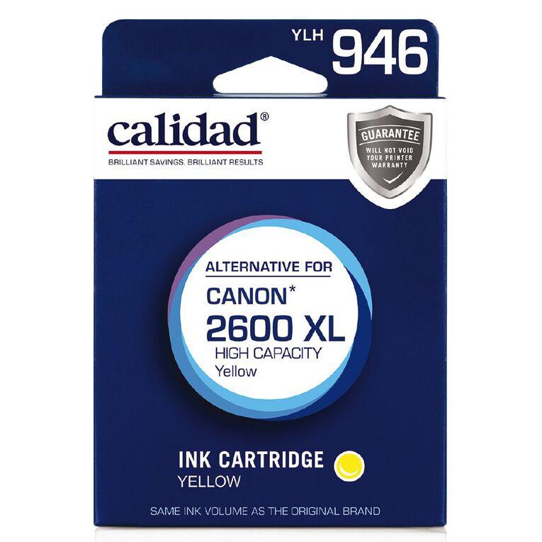 Calidad Canon PGI-2600XL Yellow, , hi-res