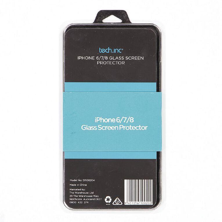 Tech.Inc iPhone 6/7/8 Glass Screen Protector, , hi-res