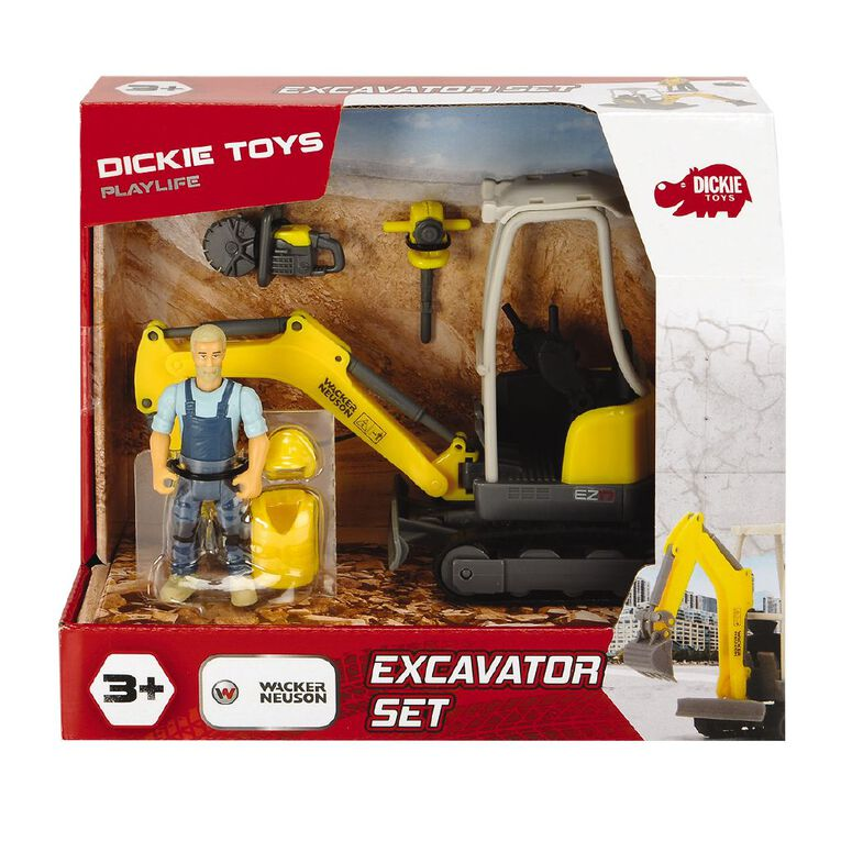 Dickie Excavator Set, , hi-res