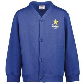 Schooltex Ilam Cardigan Sweatshirt with Embroidery