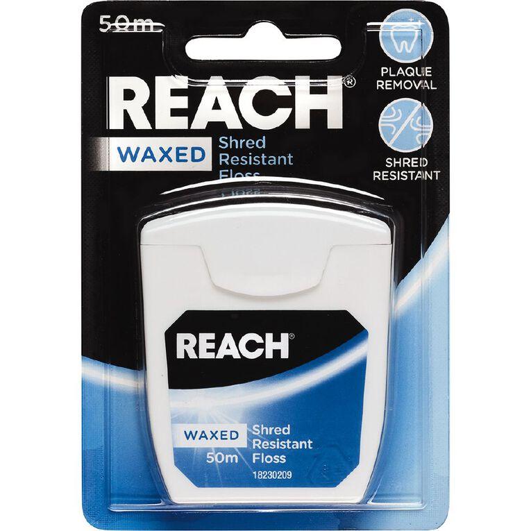 Reach Waxed Floss 50m, , hi-res