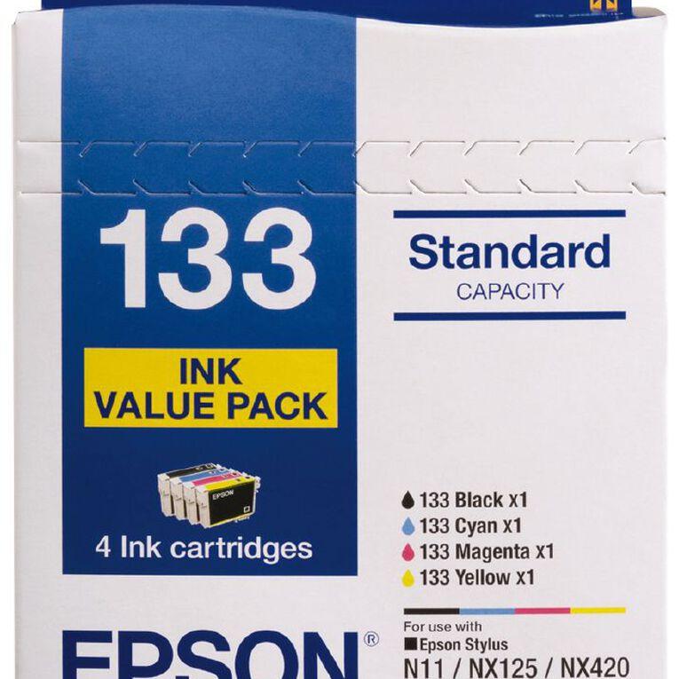Epson Ink 133 Value 4 Pack, , hi-res