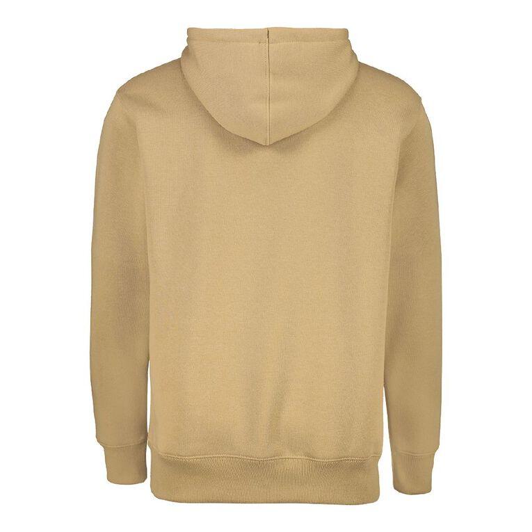 Garage Men's Hooded Sherpa Sweatshirt, Tan, hi-res