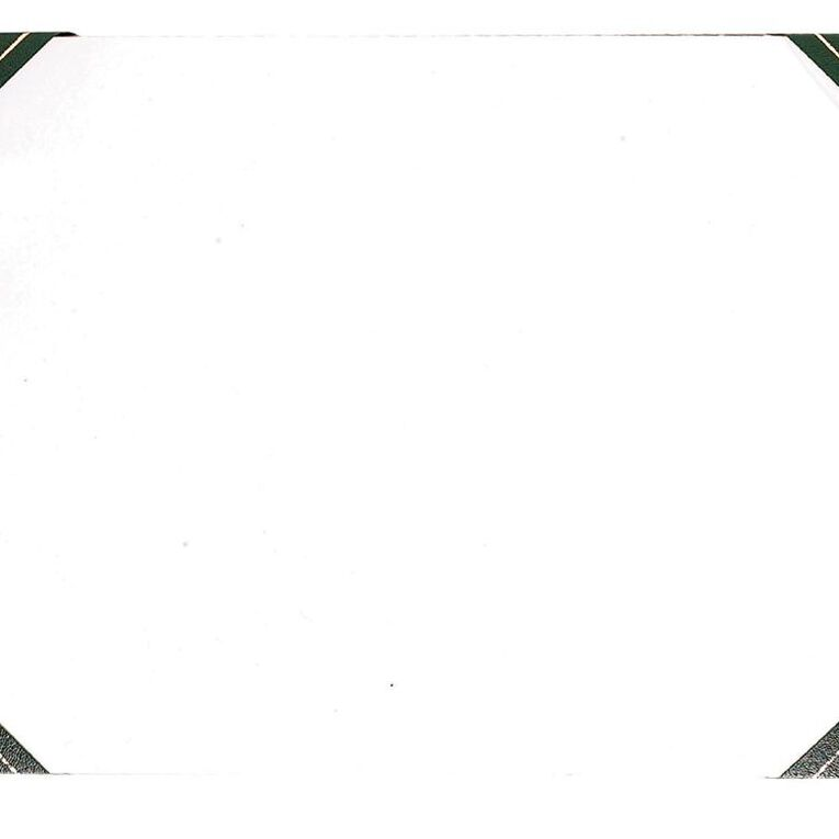 GBP Stationery Desk Pad Leathertone 4 Black Corners A3, , hi-res