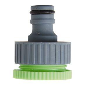 Kiwi Garden Universal Tap Adaptor Grey