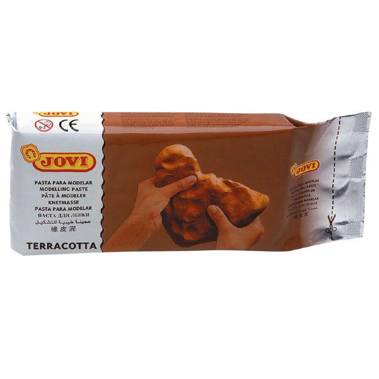 Jovi Clay Air Hardening Terracotta Brown 1kg, , hi-res