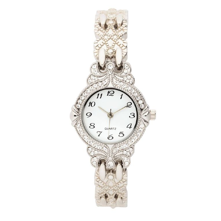 Eternity Women Analogue Watch Antique Silver, , hi-res