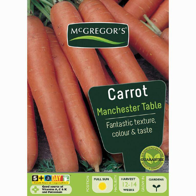 McGregor's Manchester Carrot Vegetable Seeds, , hi-res