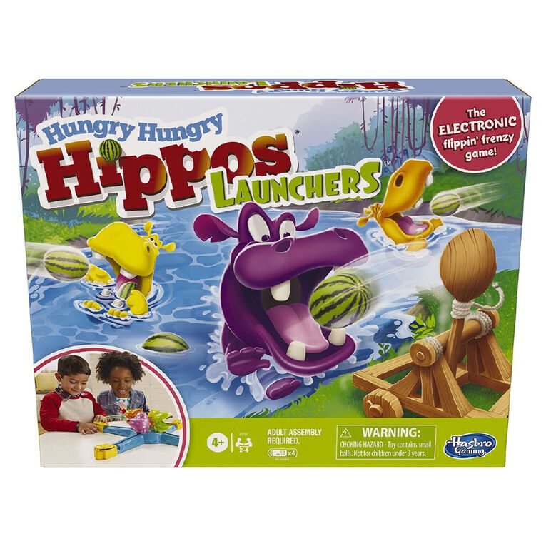 Hungry Hippos Launcher Exclusive, , hi-res