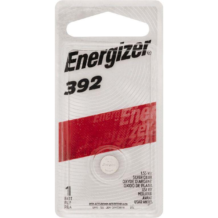 Energizer Silver Oxide Watch Battery - 392BP1 1.5 volt, , hi-res