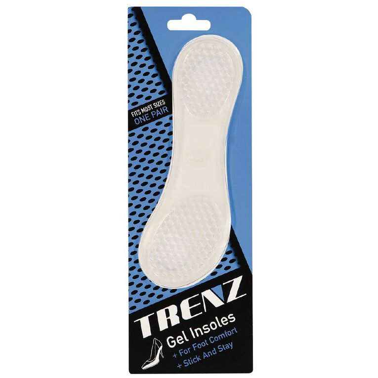 Trenz Gel Insole Cushion, White, hi-res image number null