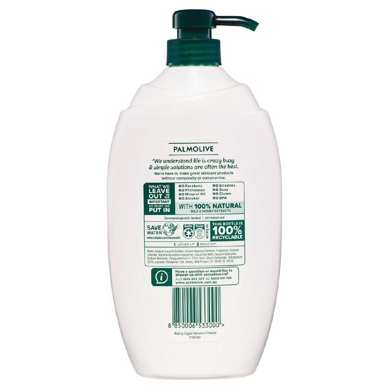Palmolive Body Wash Milk and Honey 1L, , hi-res