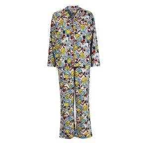 Bugs Bunny Women's Flannalette Pyjama Set