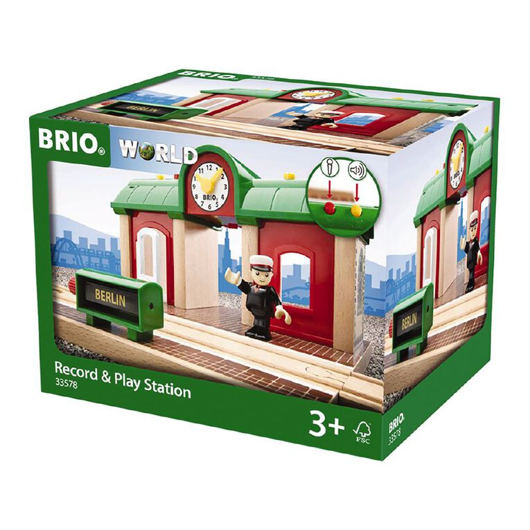 Brio Record and Play Station 2 Pieces, , hi-res