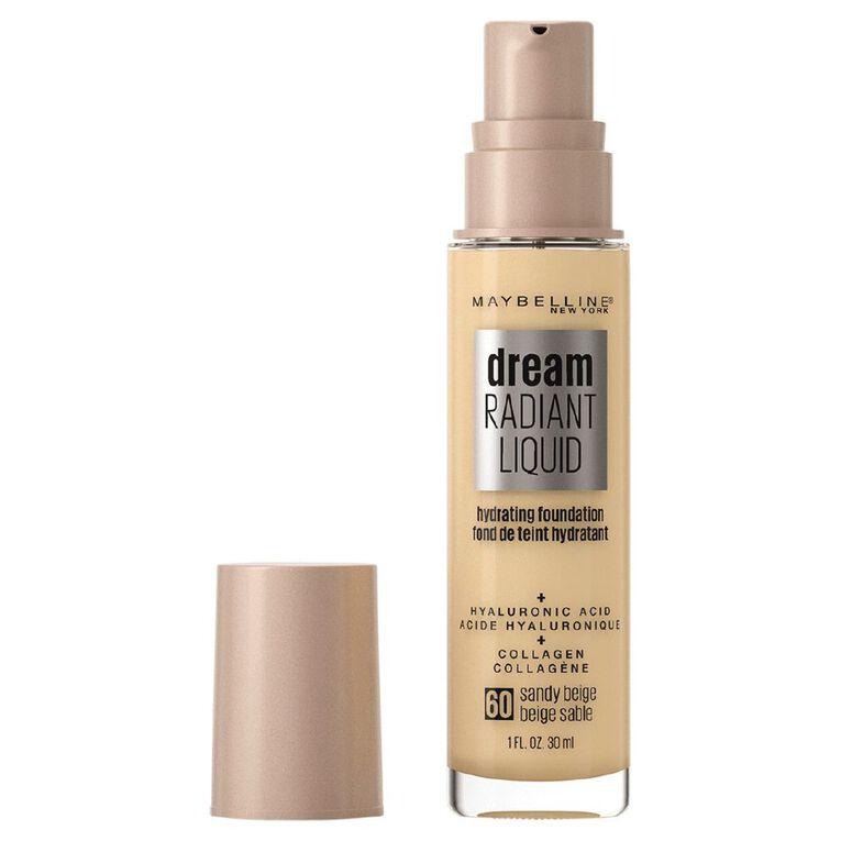 Maybelline Dream Radiant Liquid Foundation  Sandy Beige, , hi-res