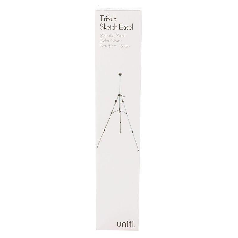 Uniti Trifold Sketch Easel Silver, , hi-res