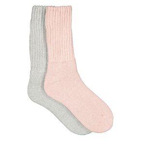 Darn Tough Women's Chunky Rib Crew Socks 2 Pack