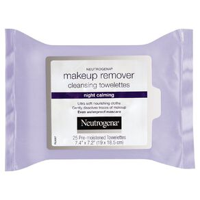 Neutrogena Night Calming Make-Up Remover Cleansing Towelettes 25 Pack