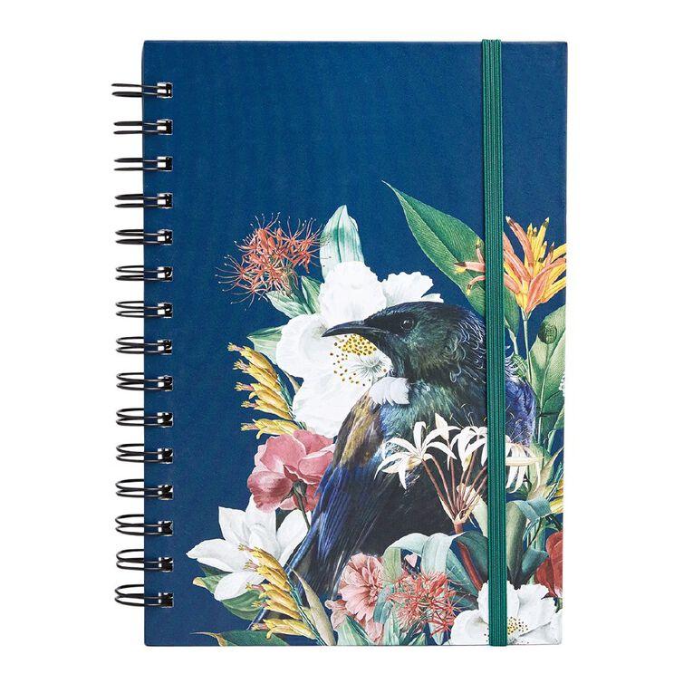 Uniti Kiwi Breeze Notebook Hardcover Bound Elastic Green Dark A5, , hi-res