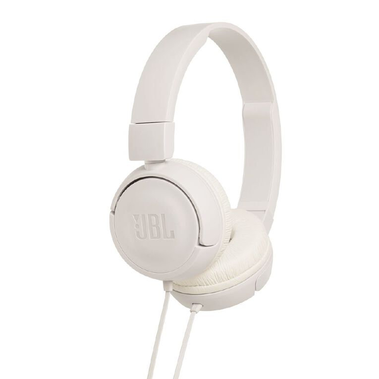 JBL T450 Wired Headphones White, , hi-res
