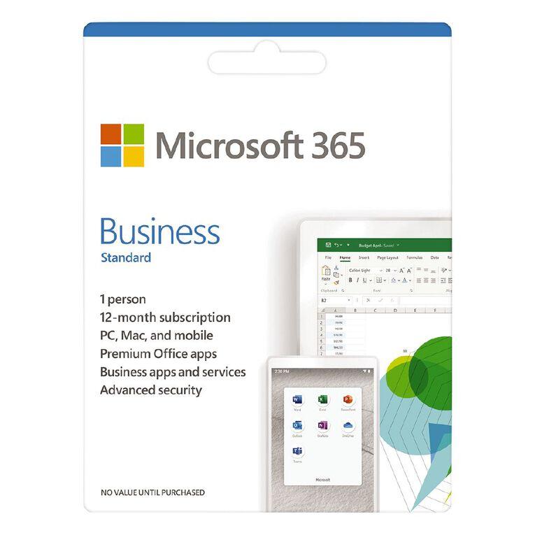 Microsoft 365 Business Standard, , hi-res
