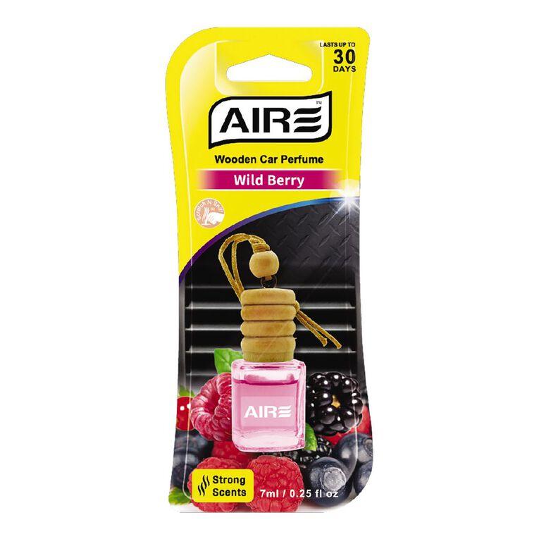 Aromate Wooden Car Perfume 7ml Wild Berry, , hi-res