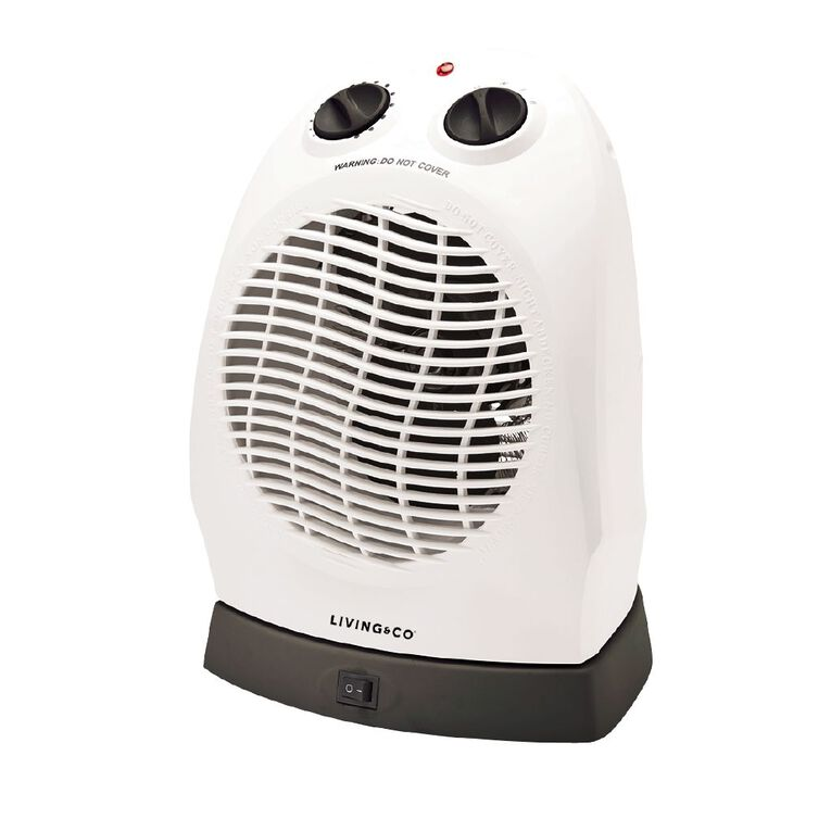 Living & Co Upright Fan Heater with Oscillation 2000W, , hi-res