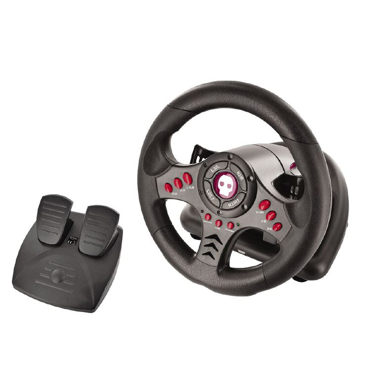 Numskull Multi Format Steering Wheel and Pedals, , hi-res