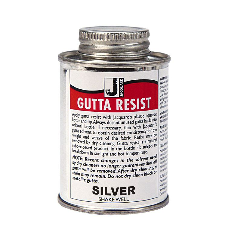 Jacquard Gutta Resist 118.29ml Silver Metallic, , hi-res