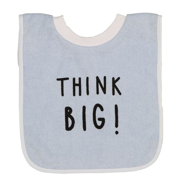 Young Original 3 Pack Bibs, White, hi-res image number null