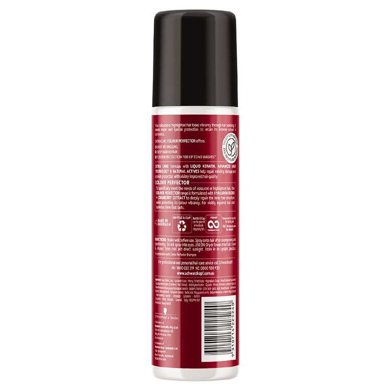 Schwarzkopf Extra Care Colour Perfector Express Repair Conditioner 200ml, , hi-res