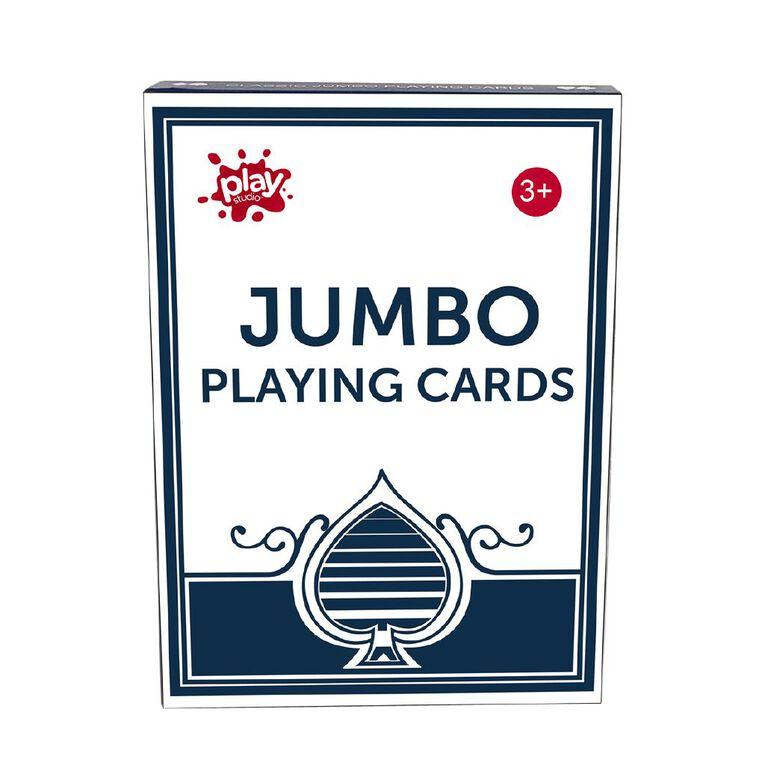 Play Studio Jumbo Plus Playing Cards 350g, , hi-res
