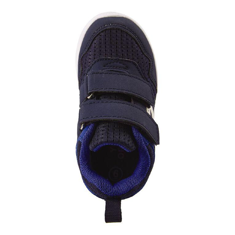 Young Original Kids' Double Strap Shoes, Navy, hi-res