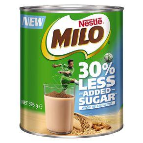 Nestle Milo 30% Less Added Sugar 395g