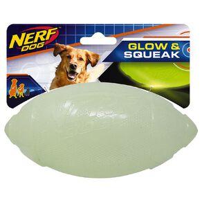 NERF Glow Classic Squeak Football