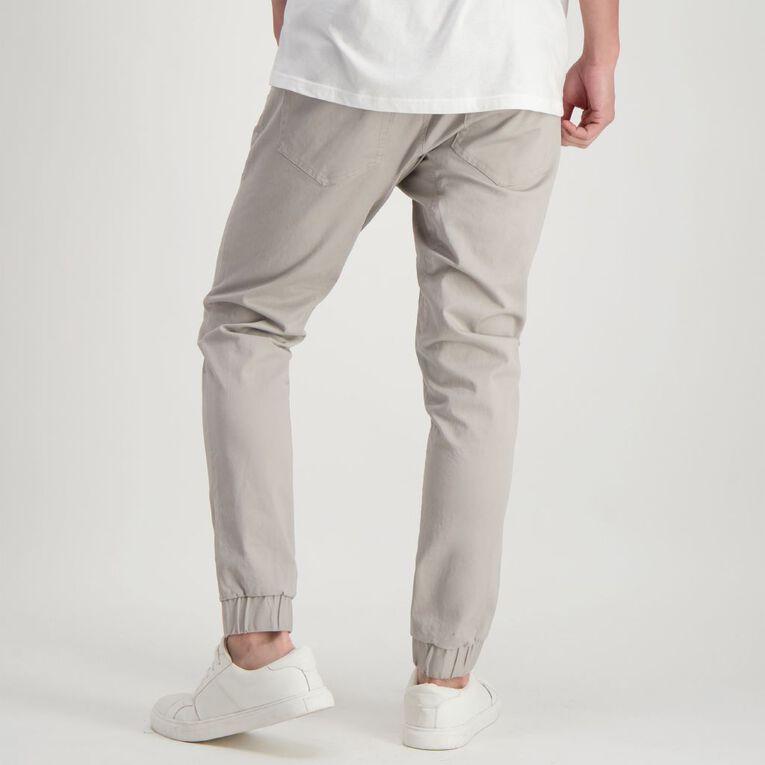 Garage Men's Seam Detail Pants, Grey, hi-res