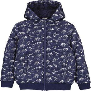 Young Original AOP Rib Puffer Jacket