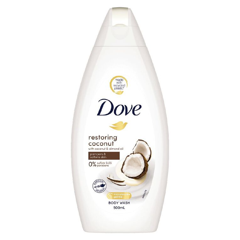 Dove Bodywash Restoring 500ml, , hi-res