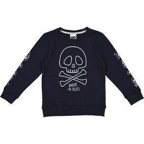 Young Original Glow In The Dark Crew Sweatshirt