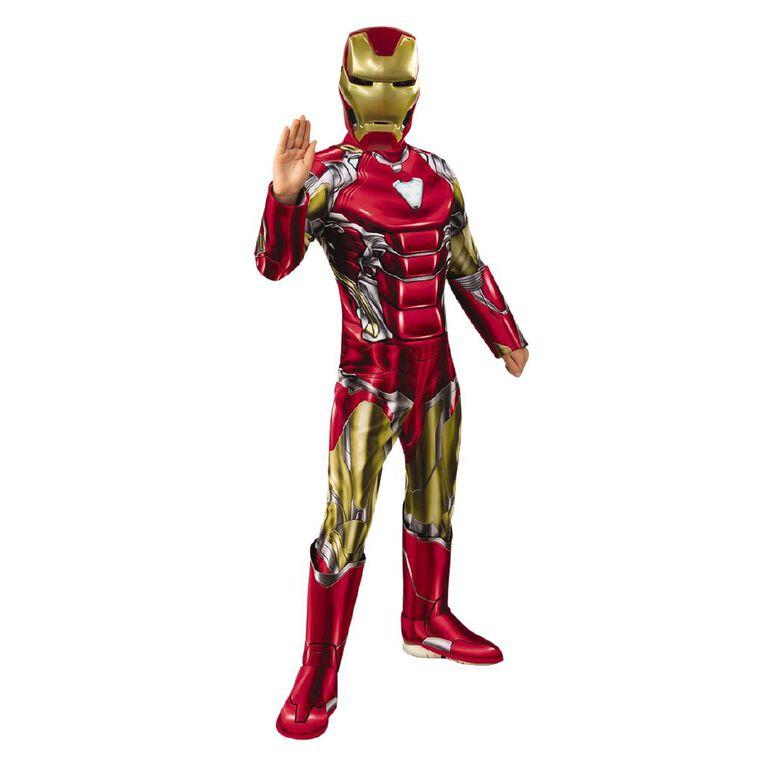 Iron Man Deluxe Avengers 4 Costume - Size 3-5, , hi-res