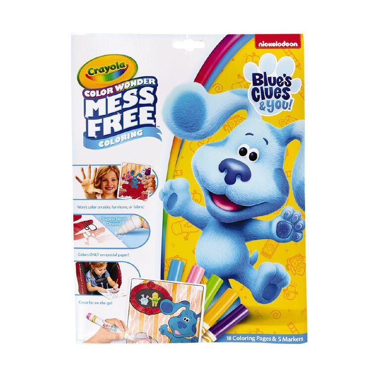 Crayola Color Wonder Foldalope Blues Clues, , hi-res
