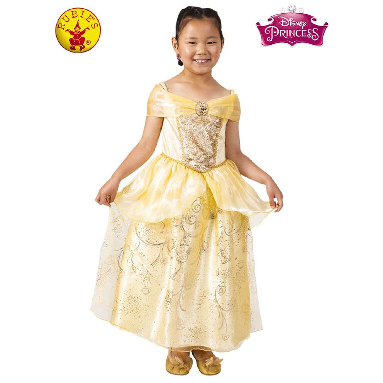 Disney Belle Ultimate Princess Dress 6-8 Years, , hi-res