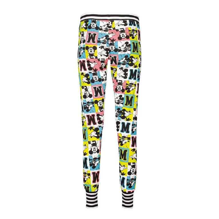 Mickey Mouse Disney Women's Stretch Pants, Black, hi-res