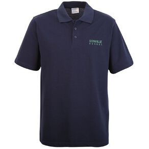 Schooltex Gonville School Short Sleeve Polo with Embroidery