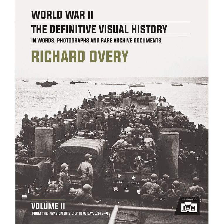 World War II: The Definitive Visual History Vol #2 by Richard Overy, , hi-res image number null