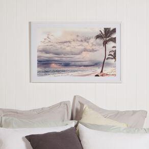 Living & Co Paradise Island Framed Print 60 x 90 x 2.3cm