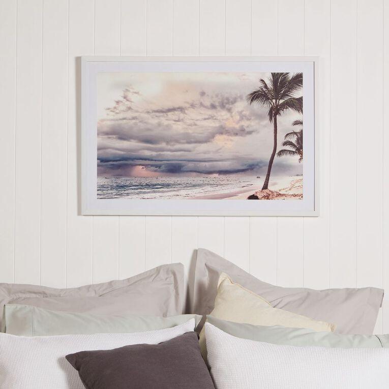 Living & Co Paradise Island Framed Print 60 x 90 x 2.3cm, , hi-res