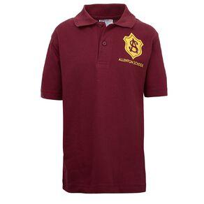 Schooltex Allenton Short Sleeve Polo with Transfer